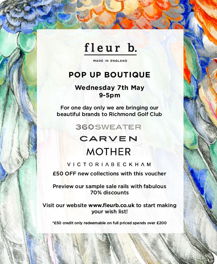Fleur b. Pop-Up Boutique Modern Style Review